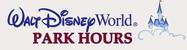 Disney Park Hours
